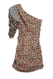 Lilia Dress Rust