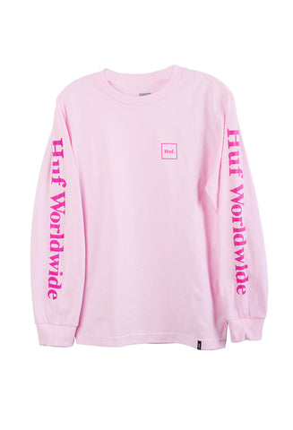 Domestic Long Sleeve Tee Pink