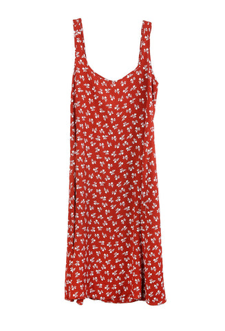 Florentina Dress Corta Rossa