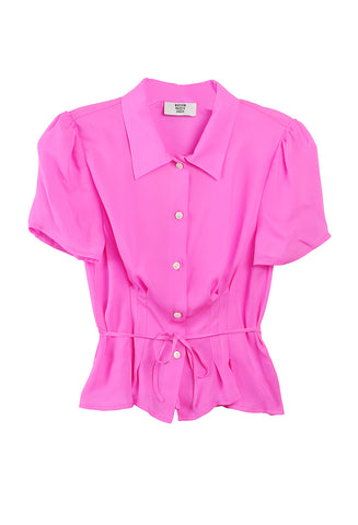 Alba Button Down Pink