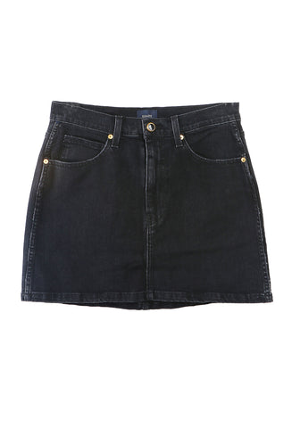 Dolly Mini Skirt Stoned Black