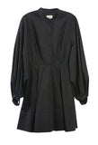Amelie Cotton Dress Black