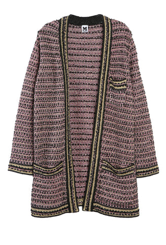 Lurex Knit Coat