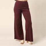 Simon Miller Rian Oxblood Lounge Pant / Shop Super Street - 3