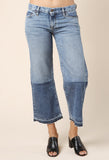 Simon Miller Thomas Cropped Wide Leg Denim Jean / Shop Super Street - 3