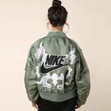 Dry Clean Only Just Do It Green Bomber / Shop Super Street - 2