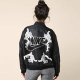 Dry Clean Only Just Do It Black Bomber / Shop Super Street - 2