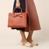 Mansur Gavriel Brandy Vegetable Sun Bag / Shop Super Street - 6