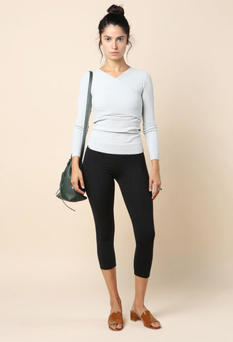 Live The Process Contour Cropped Legging / Shop Super Street - 1