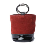 Simon Miller Patent Oxblood Bonsai Bag / Shop Super Street - 1