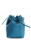 Mini Mini Bucket Bag Teal Saffiano