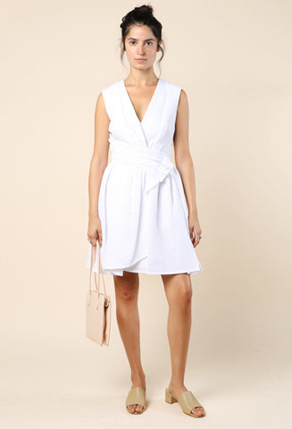 Carven Side Sash Dress / Shop Super Street - 1