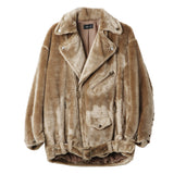 G.V.G.V. Faux Faur Biker Jacket / Shop Super Street - 1