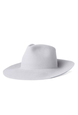 Clyde Wide Brim Grey Pinch Hat / Shop Super Street - 1