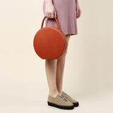 Mansur Gavriel Brandy/Raw Circle Bag / Shop Super Street - 2