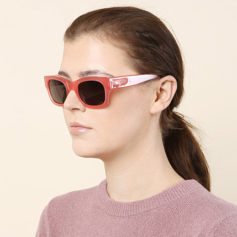 Sun Buddies Type 06 Pomeganate Sunglasses / Shop Super Street - 1