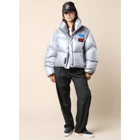 Hyein Seo Down Bomber Jacket / Shop Super Street - 1