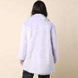 Hyein Seo Goddess Faux Fur Coat / Shop Super Street - 4