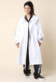 Hyein Seo Oversized Reflective Fishtail Parka / Shop Super Street - 4