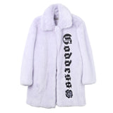 Hyein Seo Goddess Faux Fur Coat / Shop Super Street - 1