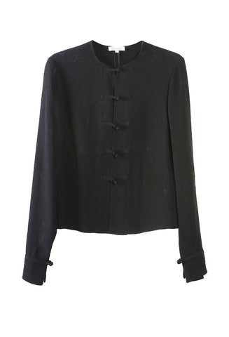 Centre-Opening Fitted Blouse