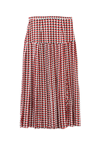 Tina Skirt Houndtooth