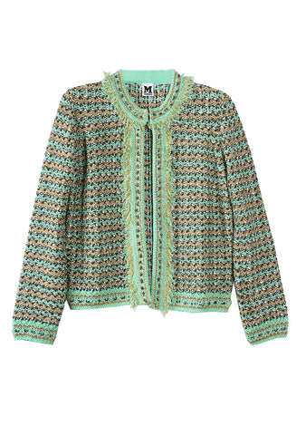 Knit Jacket Green