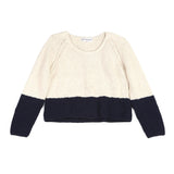 Apiece Apart Cropped Colorblock Sweater / Shop Super Street - 1