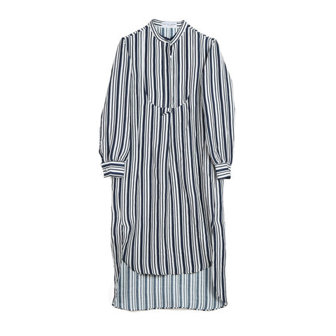 Apiece Apart Samara Striped Shirt Dress / Shop Super Street - 1
