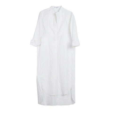 Apiece Apart Samara White Shirt Dress / Shop Super Street