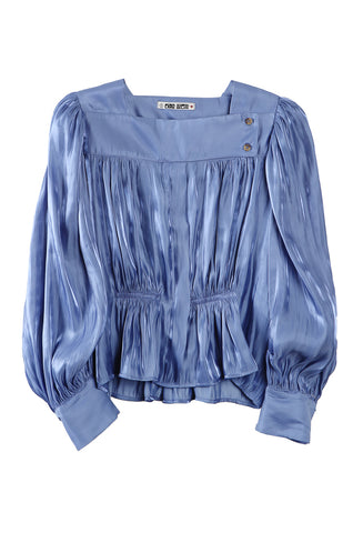 Allegra Top Sea Metallic