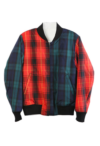 Reversible Bomber Plaid