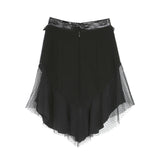 Rodarte Leather and Lace Skirt / Shop Super Street - 3