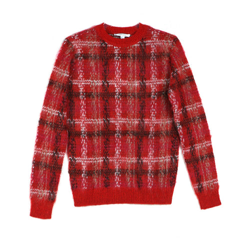 Carven Plaid Sweater / Shop Super Street - 1