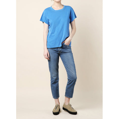 The Great Washed Blue Boxy Crew Tee / Shop Super Street - 1