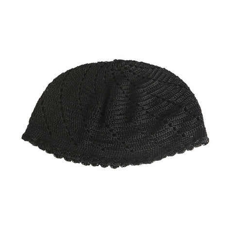 Hyein Seo Crocheted Black Cap / Shop Super Street