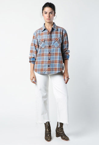 R13 Grunge Plaid Shirt / Shop Super Street - 1