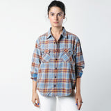 R13 Grunge Plaid Shirt / Shop Super Street - 3