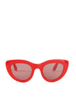 Mia Sunglasses Fiery Red