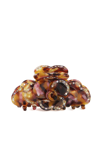 Claw Clip Rose Tortoise