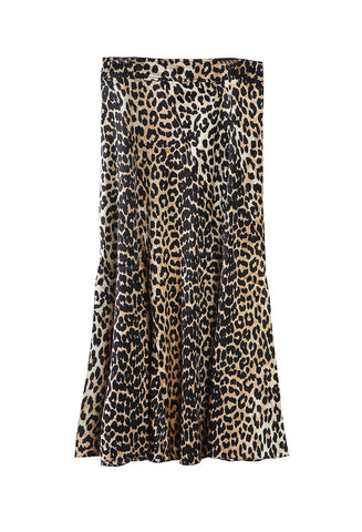 Blakely Skirt Leopard
