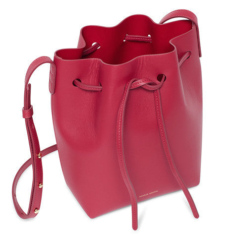 Mansur Gavriel Rococo Mini Bucket Bag / Shop Super Street - 1