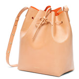 Mansur Gavriel Camello/Orange Bucket Bag / Shop Super Street - 3