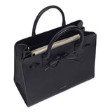 Mansur Gavriel Black Tumble Sun Bag / Shop Super Street - 4