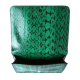 Rochas Double Compartment Green Embossed Lady Bag / Shop Super Street - 6