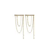 Loren Stewart Chain Cascade Earrings / Shop Super Street - 1