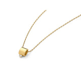 Wasson Fine 14k Tube Pendant Necklace / Shop Super Street - 1
