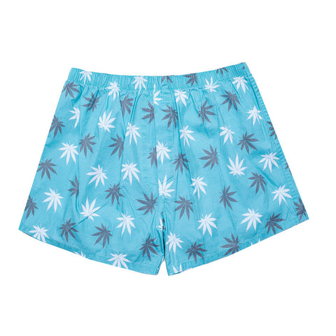 HUF Plantlife Teal Boxer / Shop Super Street