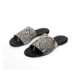 Newbark Snake Leather Slides / Shop Super Street - 2