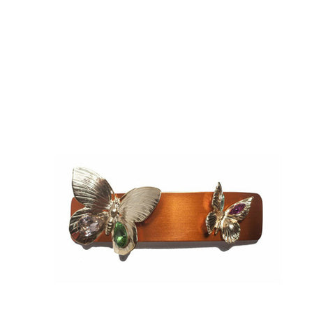 Rodarte Orange Butterfly Barette / Shop Super Street - 1